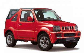 Rent Suzuki Jimny Cabrio