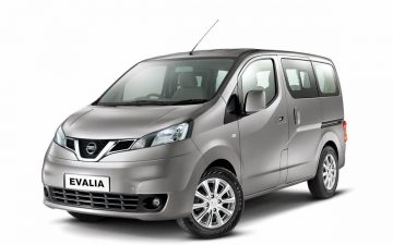 Rent Nissan EVALIA 7 seats